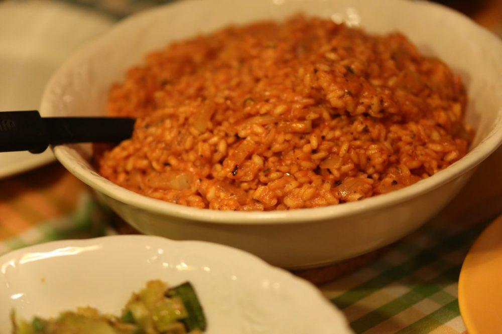 Tomaten – venkel risotto