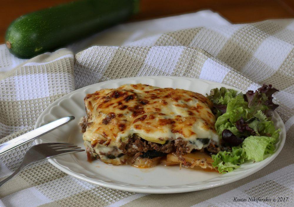 Moussaka (traditioneel grieks gerecht in een slanker jasje)