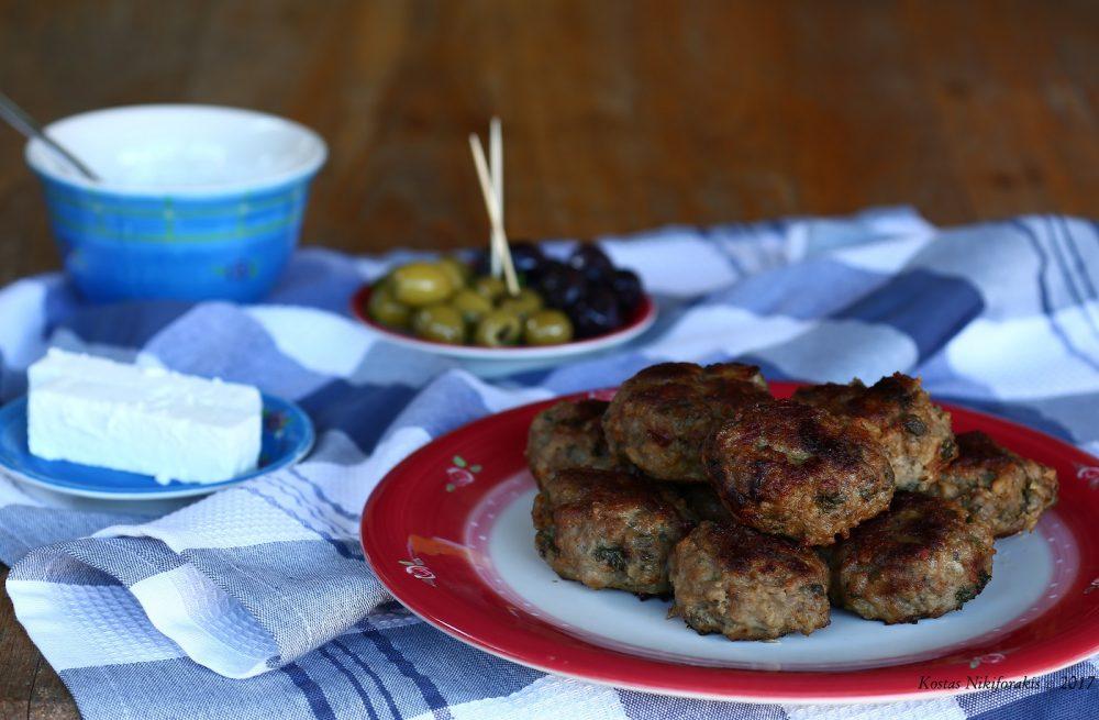 Keftedakia (griekse gehaktballetjes)