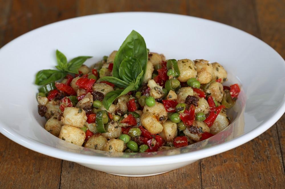 Aardappelsalade met pesto