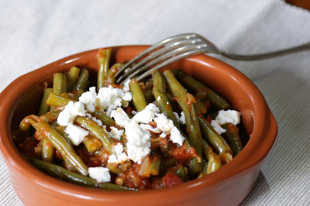 Fasolakia giaxni (griekse groene bonen)