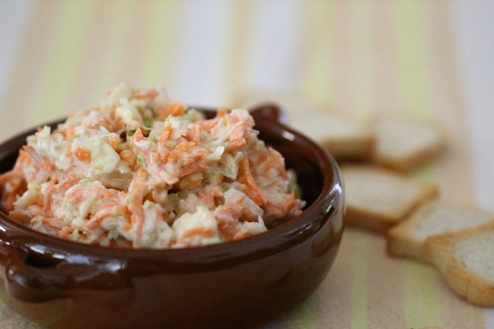 Wortel-kool salade