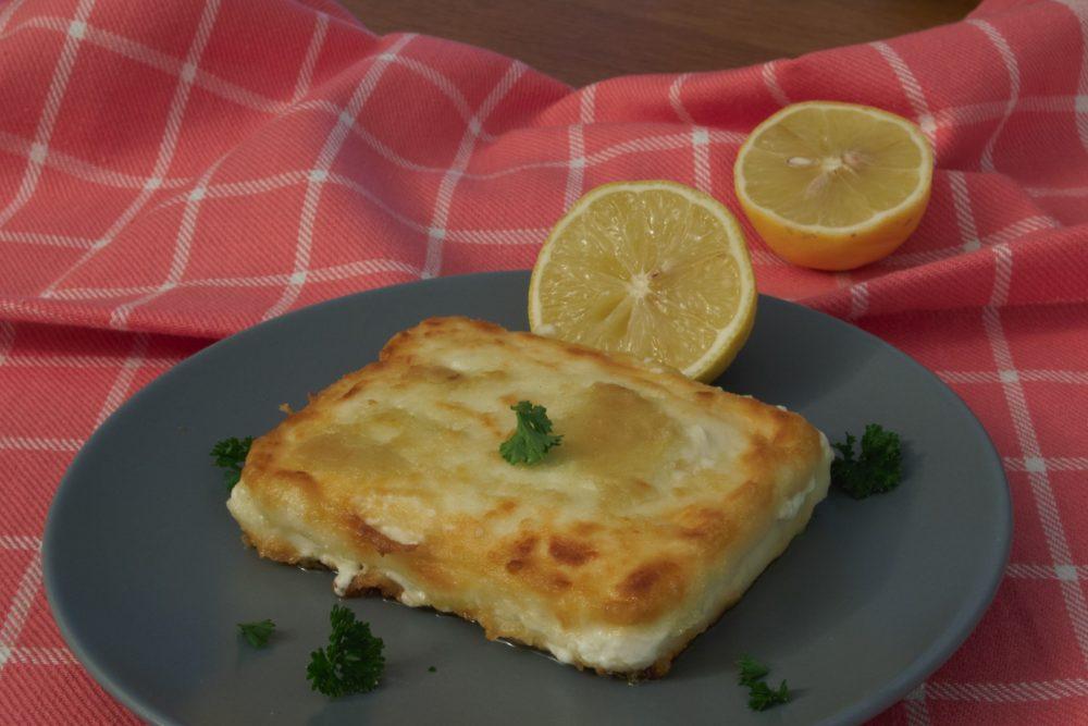 Saganaki tiri, gebakken kaas op Griekse wijze