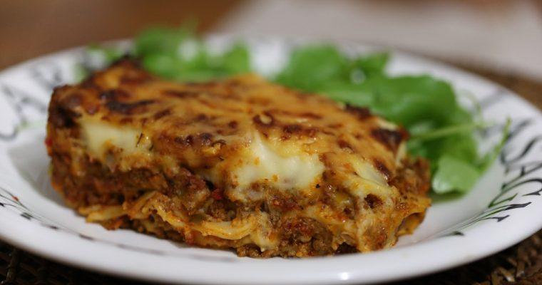 Lasagne met extra groenten