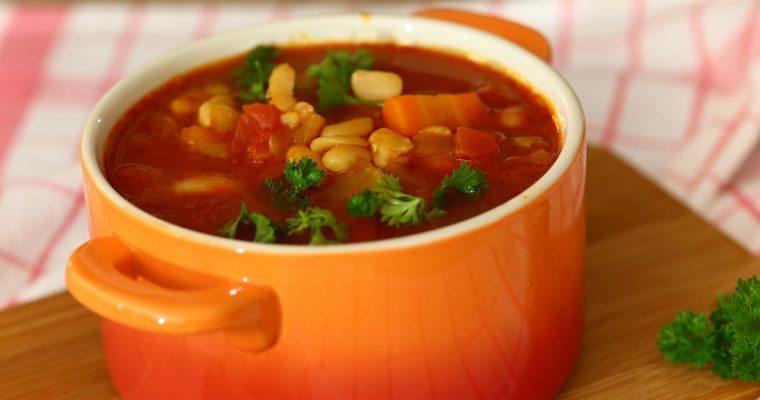 Witte bonen soep