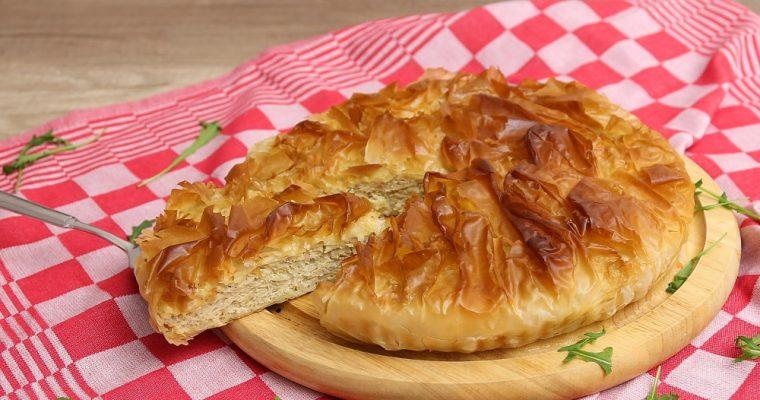 Knolselderij gehakt taart
