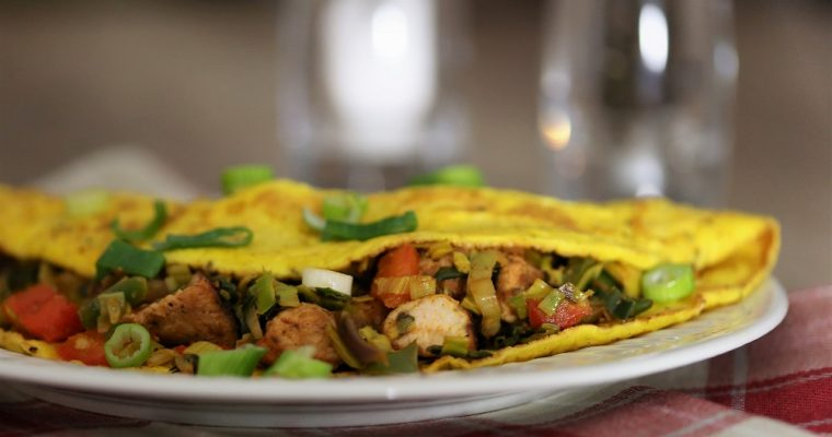 Aziatische omelet