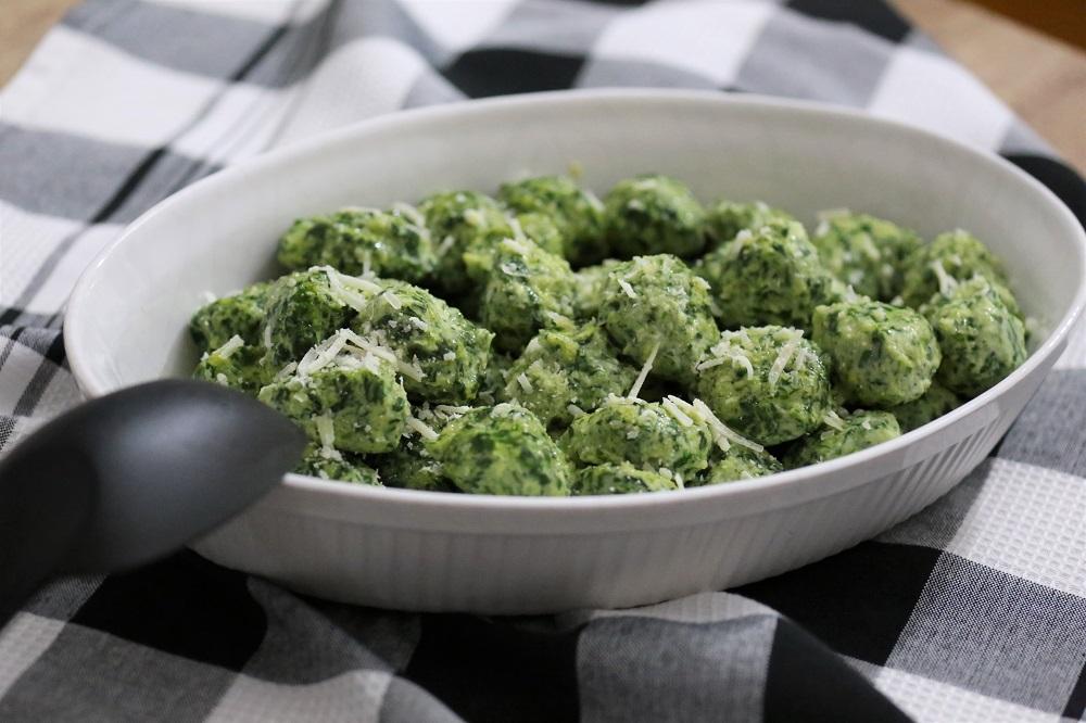Gnocchi met spinazie en ricotta