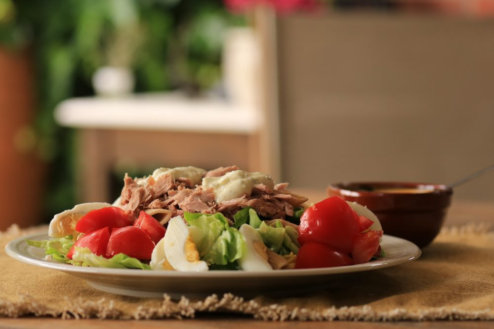 Pasta niçoise, zomerse maaltijdsalade