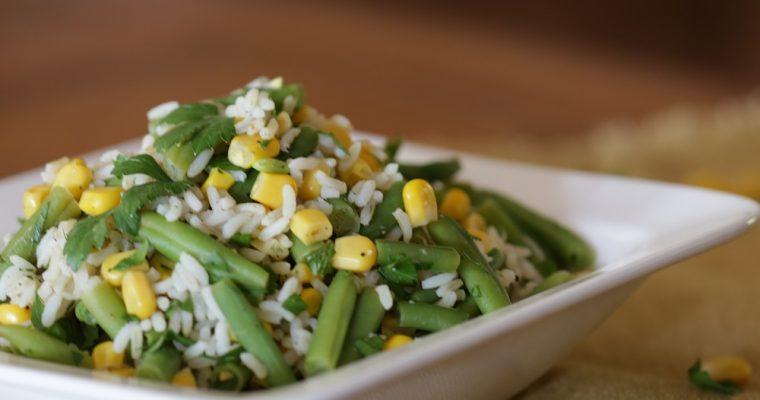 Groen gele salade
