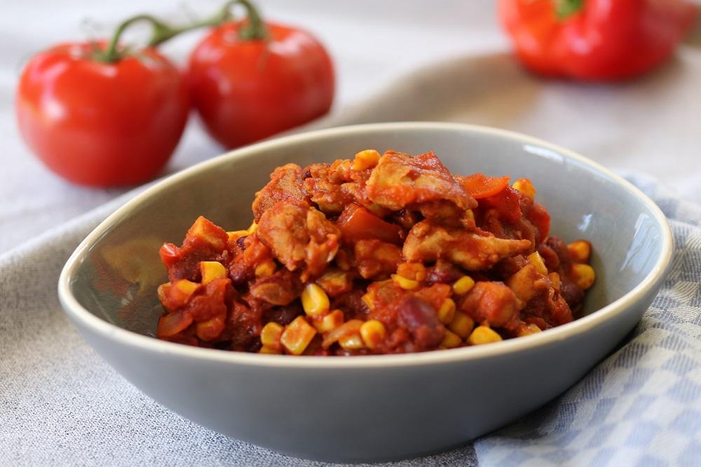 Chili con pollo