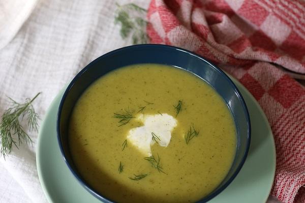 Courgettesoep, een snelle soep voor doordeweeks