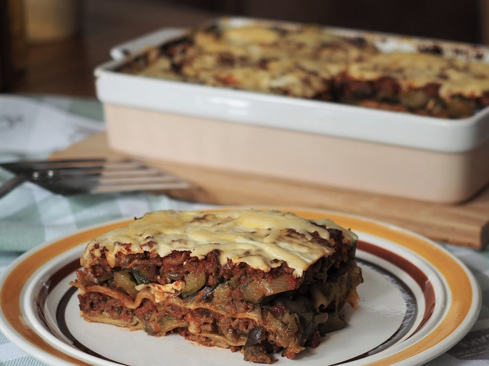 "Lasagne ""in the mix"""
