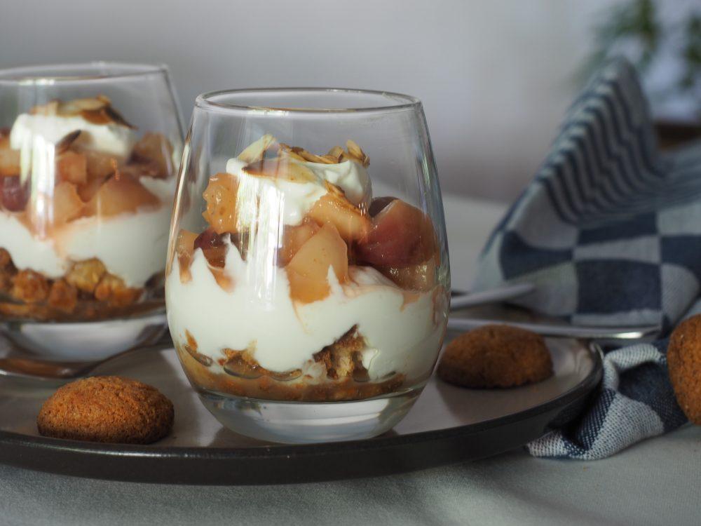 Bitterkoekjes dessert