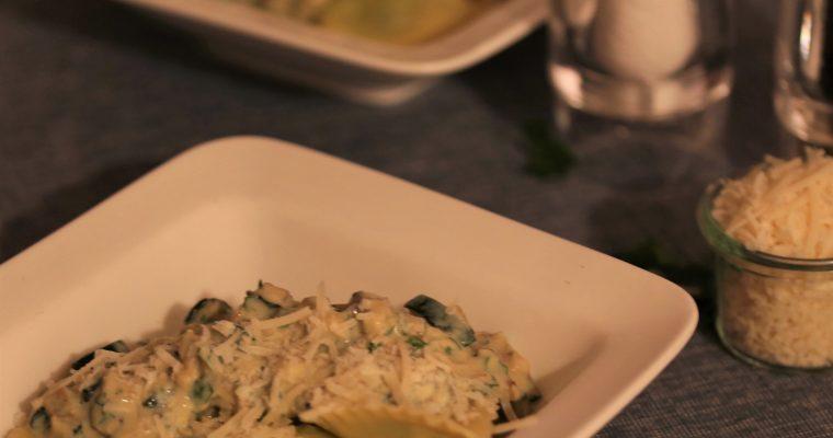 Verse pasta met citroenricotta