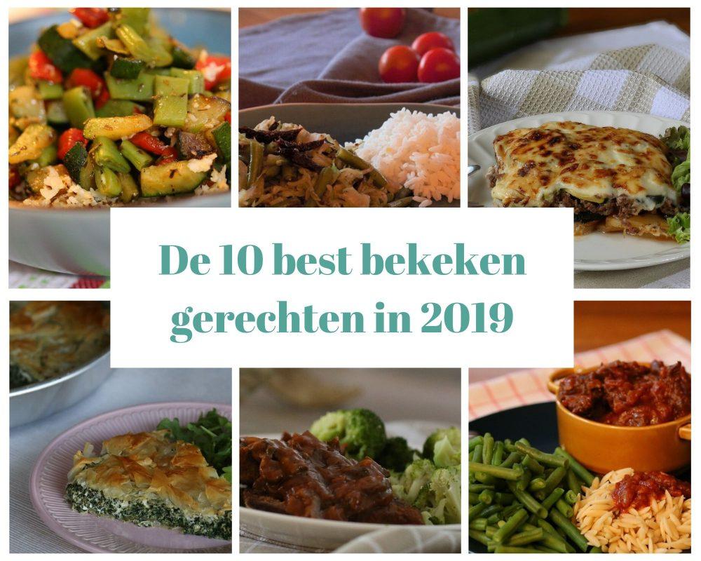De 10 best bekeken gerechten van 2019