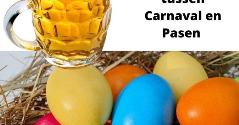 Vasten, de tijd tussen Carnaval en Pasen
