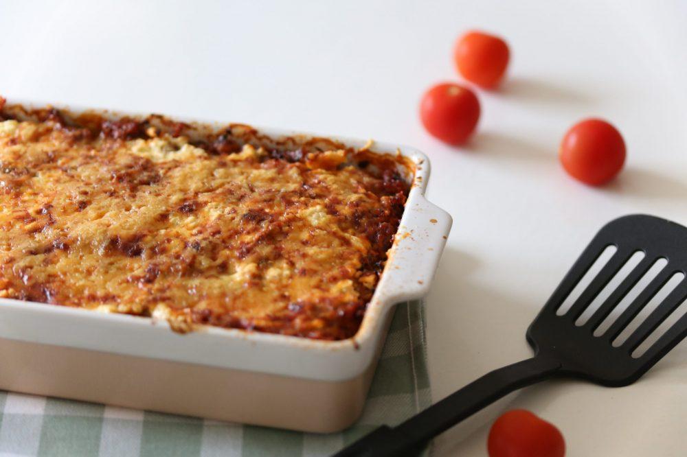 Koolhydraatarme lasagne
