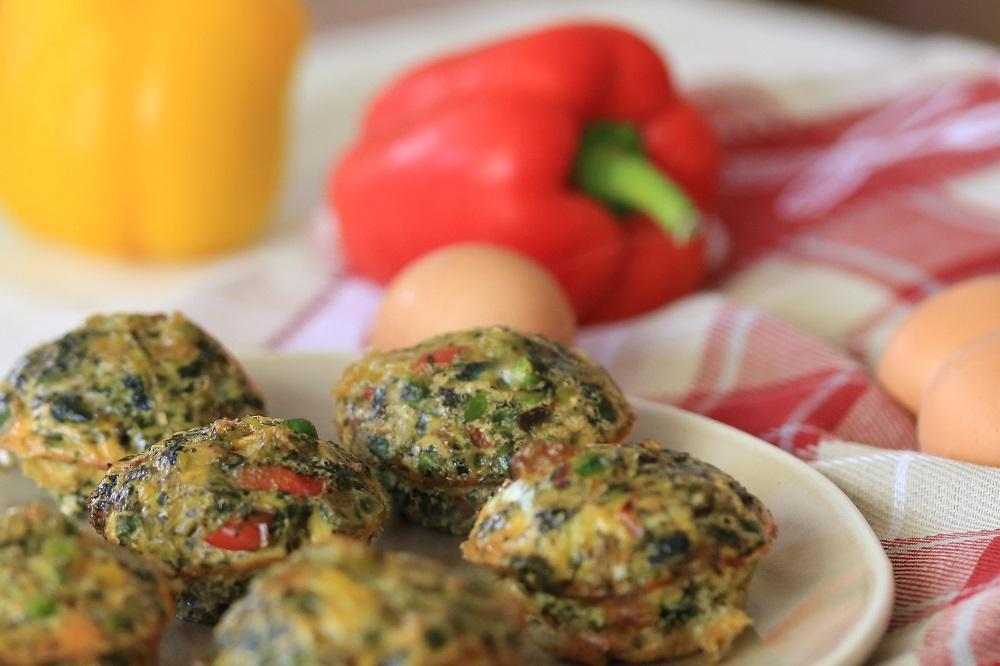Hartige eimuffins, een koolhydraatarme lunch