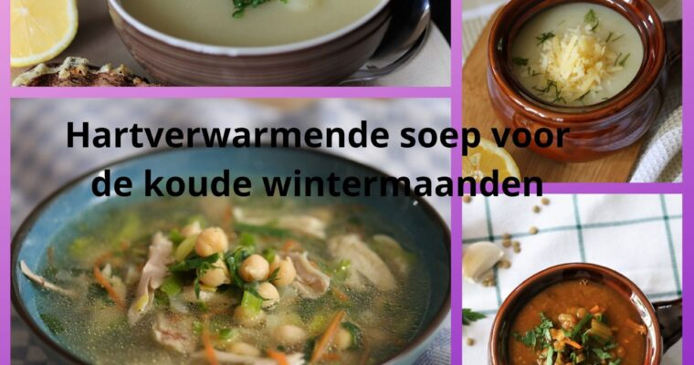 Soepen, hartverwarmend voor de winter