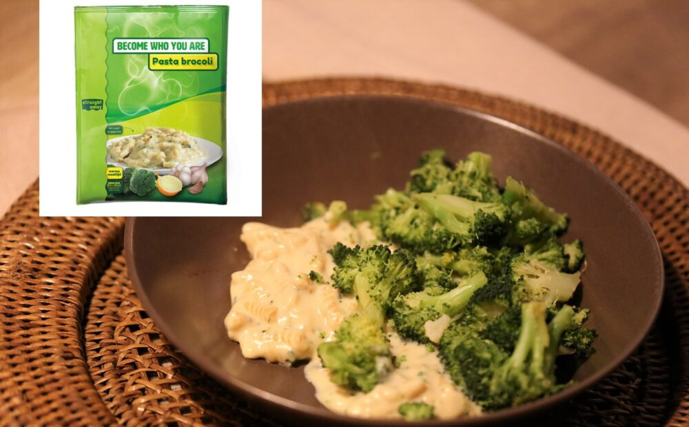 Pasta broccoli met broccoli; koolhydraatbeperkt