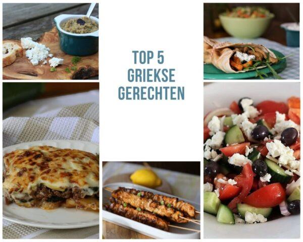 Griekse gerechten, de 5 meest bekeken recepten