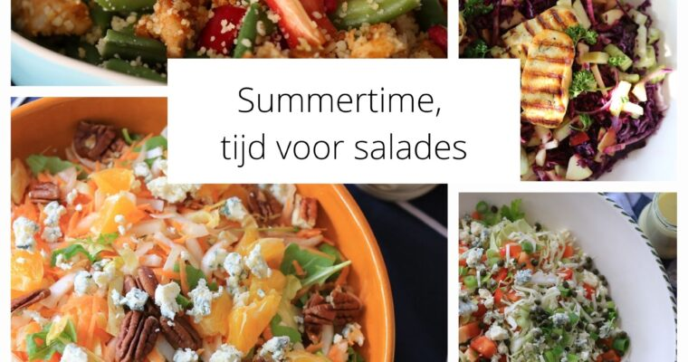 Summertime is salad time